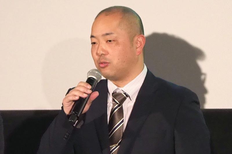 東温市総務部企画財政課 地域振興係長の田井秀一氏