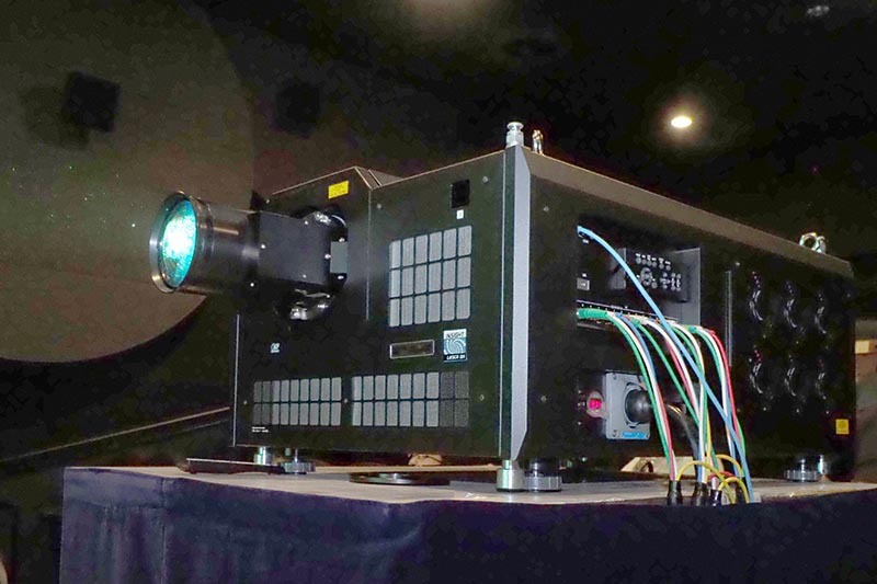 デルタ電子と英Digital Projection、アストロデザインによる8Kレーザープロジェクタで上映された