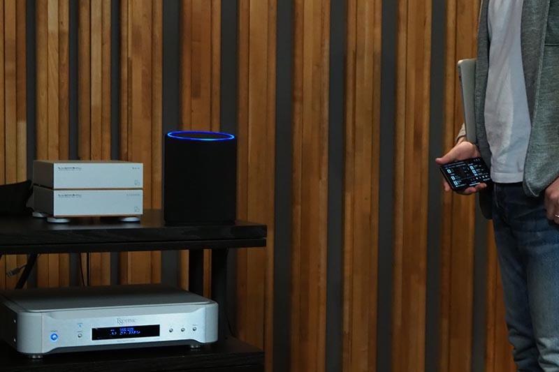 Alexaスマートスピーカーで音声操作