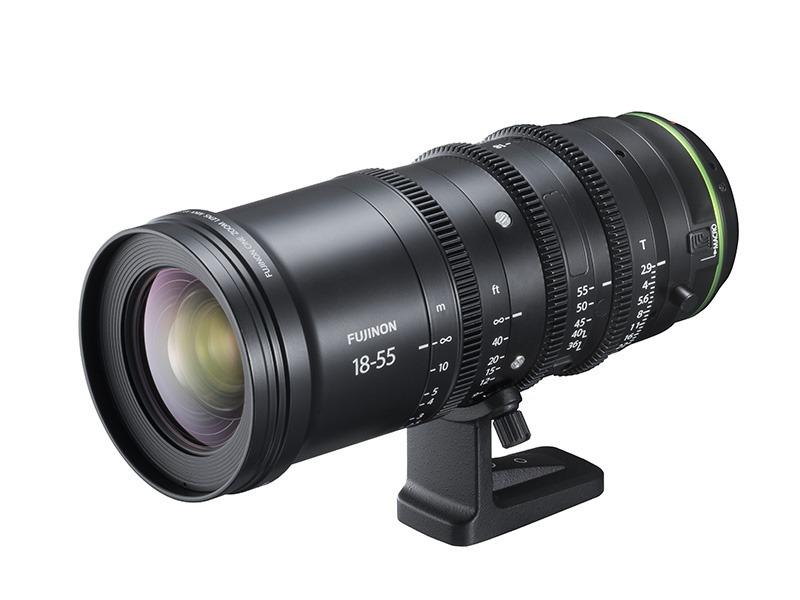 6月発売予定のシネレンズ「MKX18-55mmT2.9」