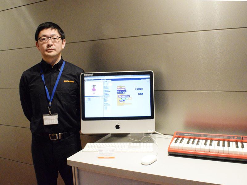 GO:KEYS ScratchX Extensionを開発した渡邊正和氏