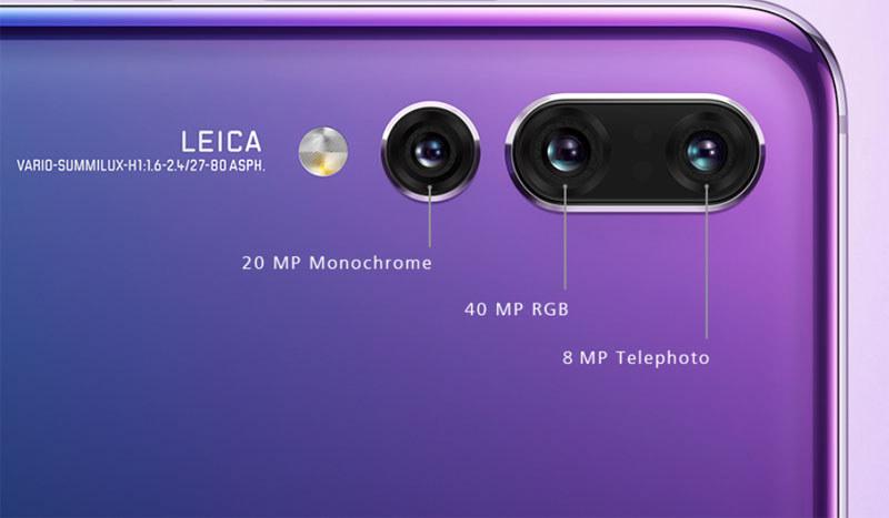P20 Proのカメラ部分