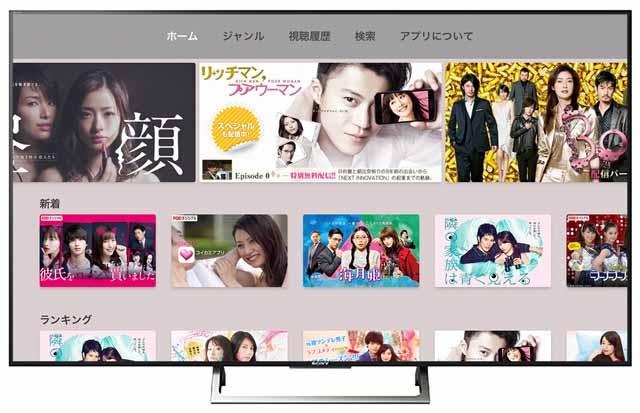 FODプレミアムがApple TV対応
