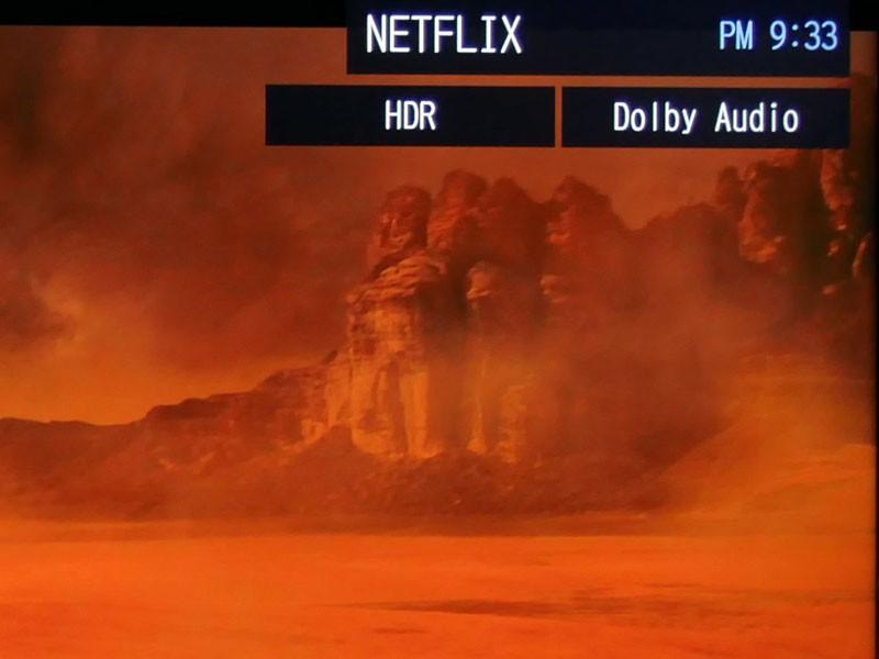 REGZA内蔵のNetflixでもHDRコンテンツが視聴可能