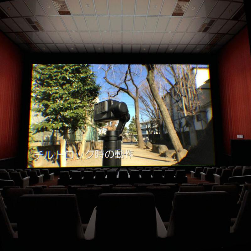 「ギャラリー」の動画再生世界。映画館の雰囲気