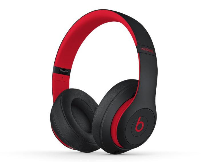 Beats Studio3 Wirelessオーバーイヤーヘッドフォン レジスタンス・ブラックレッド