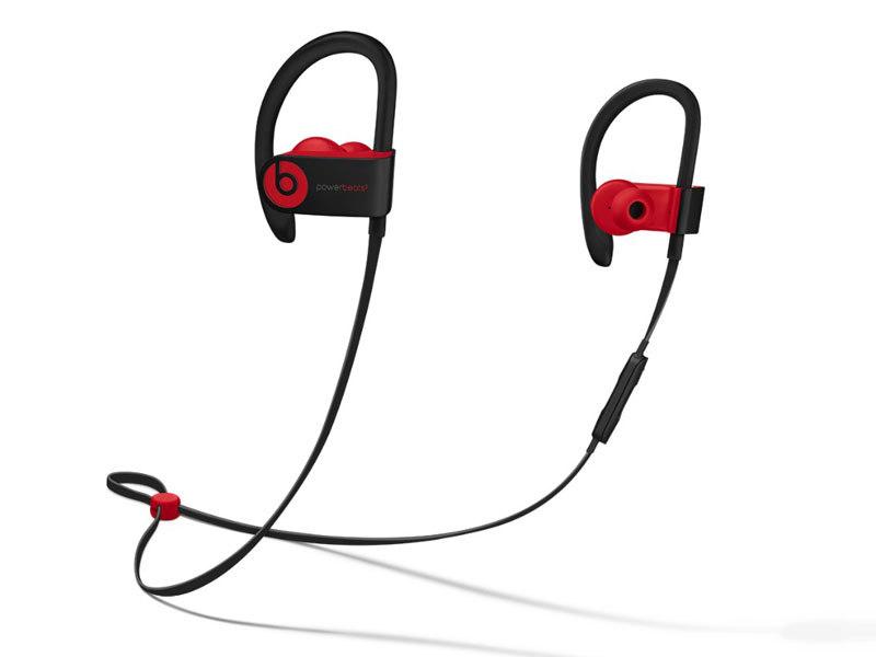 Powerbeats3 Wirelessイヤフォン レジスタンス・ブラックレッド