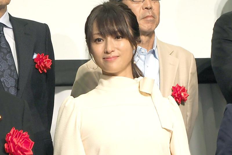推進キャラクターの深田恭子さん