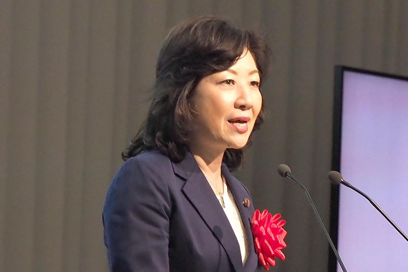 野田聖子総務大臣