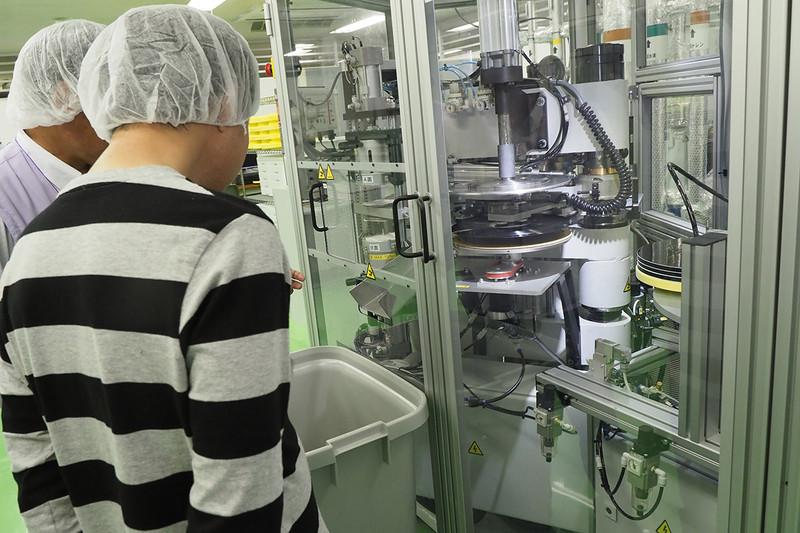 ソニーDADCジャパンの、レコードのプレス工場へ行ってきた