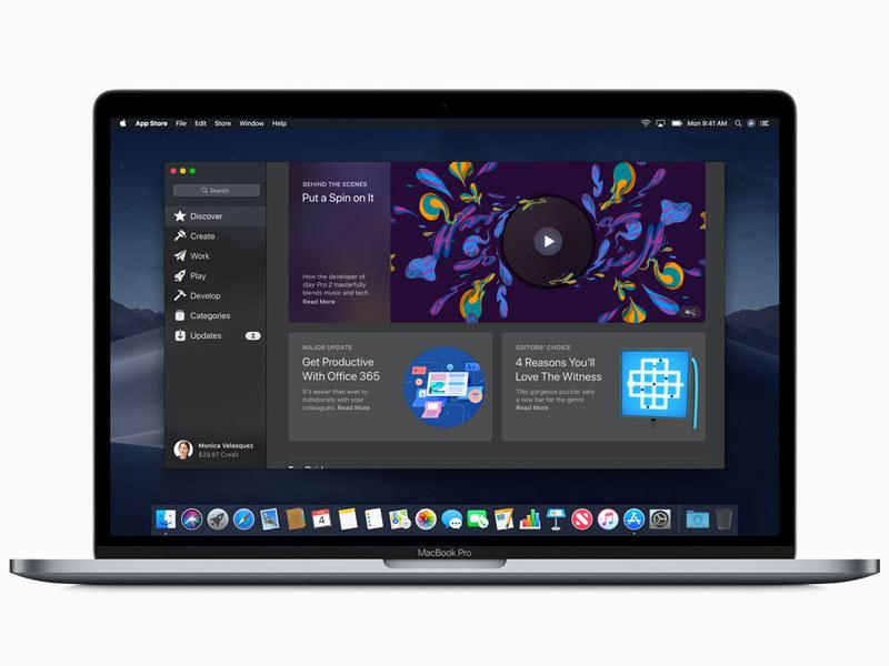 Mac App Storeも刷新