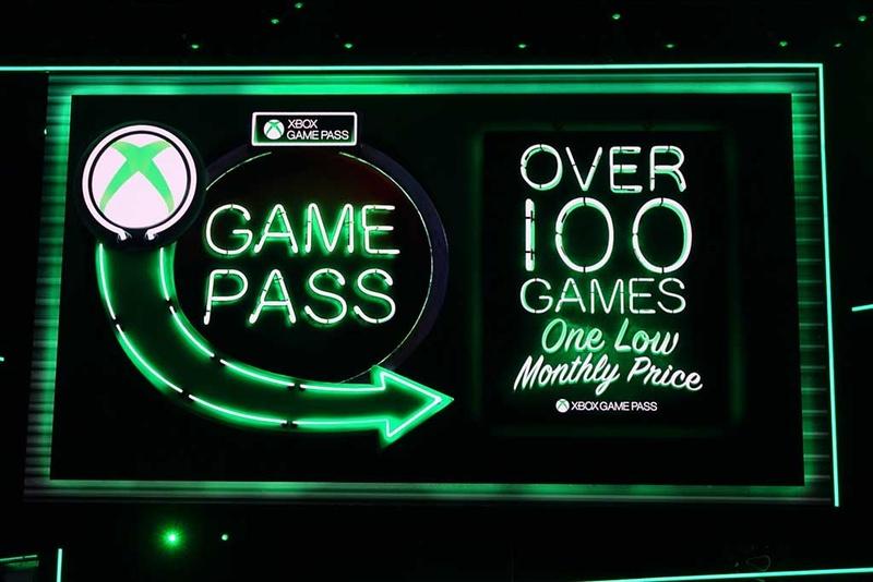 月額固定制での「遊び放題型」ゲームサービスである「Xbox Game Pass」を強化。日本での展開が待たれる