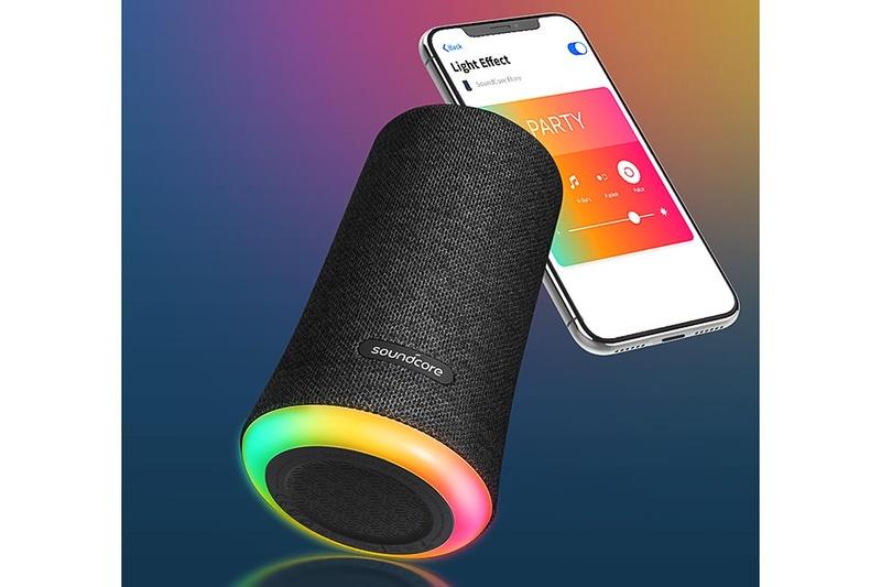 アプリでLEDライトの点灯をカスタマイズ