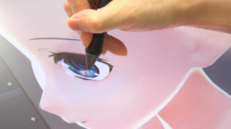 絵を描くのと同じ感覚で濃淡や光を表現可能