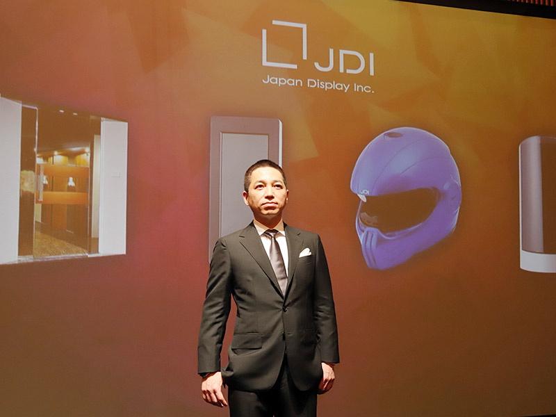 JDI常務執行役員 チームマーケティングオフィサー(CMO)の伊藤嘉明氏