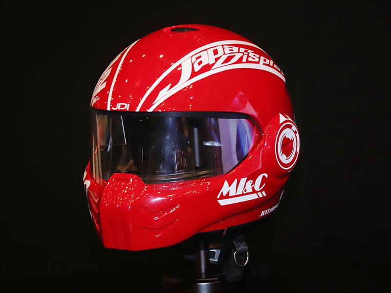 HUD搭載スマートヘルメット(コンセプト名:スパルタ)