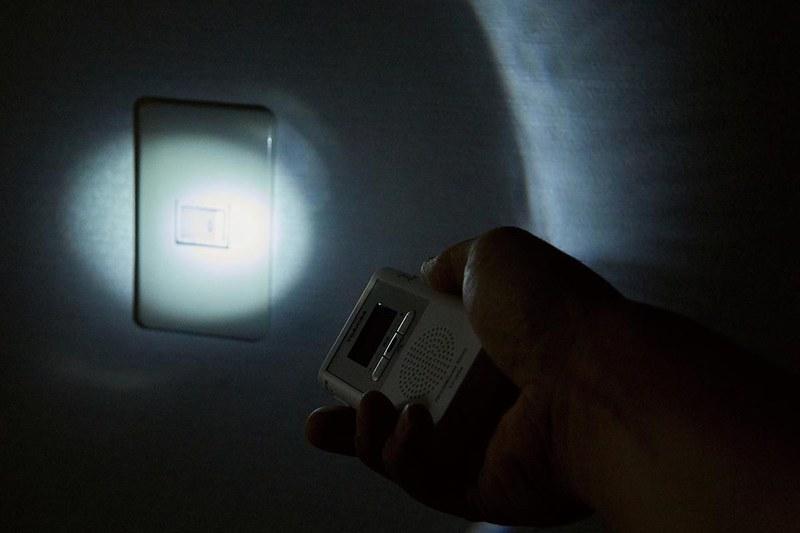 LEDライトの使用イメージ
