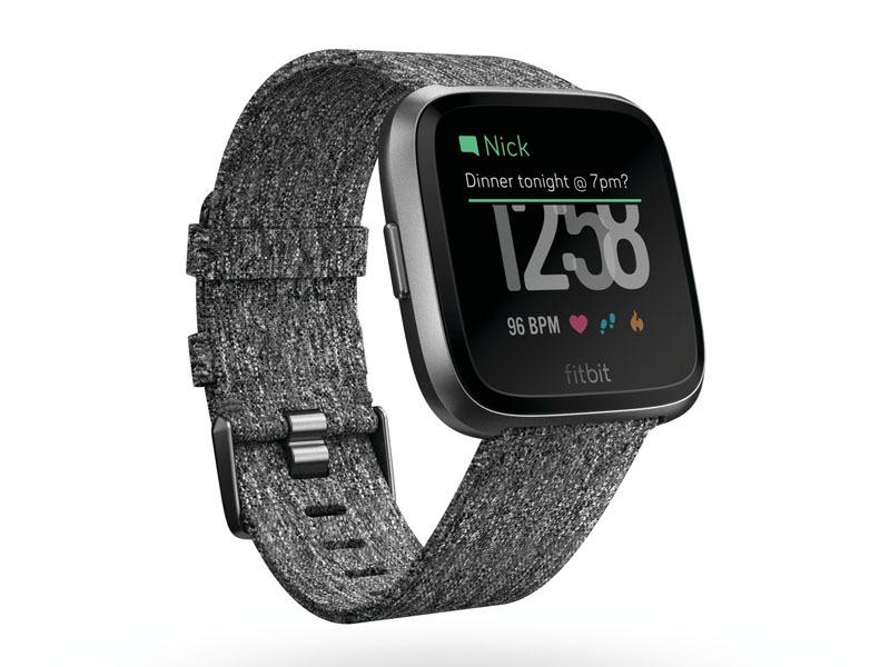 Fitbit Versa スペシャルエディション/チャコール・ウーブン