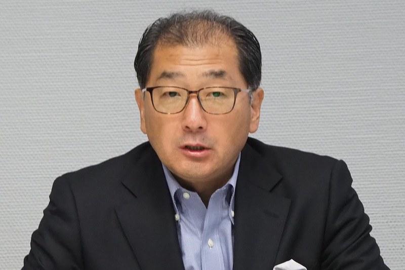 ソニー ホームエンタテインメント&サウンド事業担当の高木一郎専務