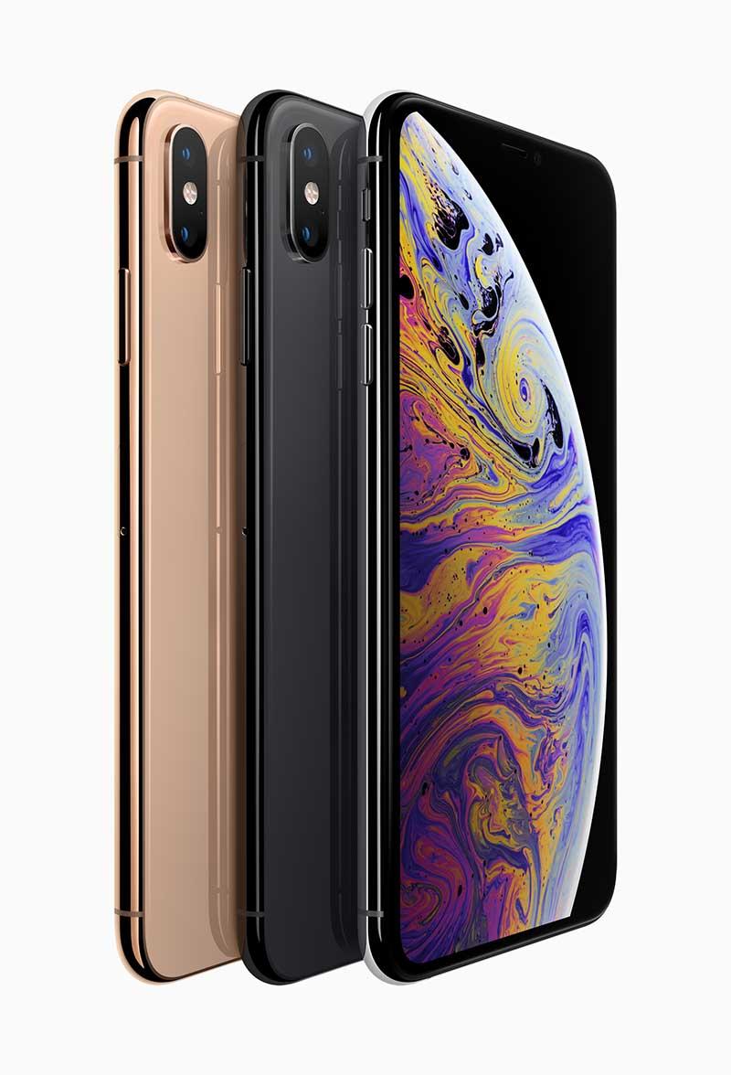 iPhone XSは3色展開