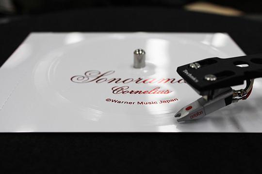 Sonorama 2の完全限定盤ソノシート