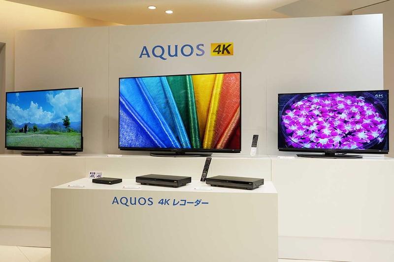 BS4K対応のAQUOS 4KとAQUOS 4Kレコーダー
