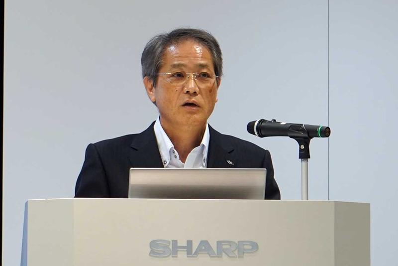 シャープ スマートTVS事業本部 本部長代行の加藤直樹氏