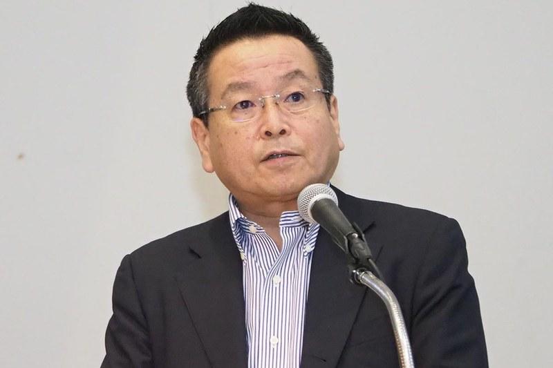 取締役 兼 副社長執行役員 AIoT 戦略推進室長 兼 欧州代表の石田佳久氏
