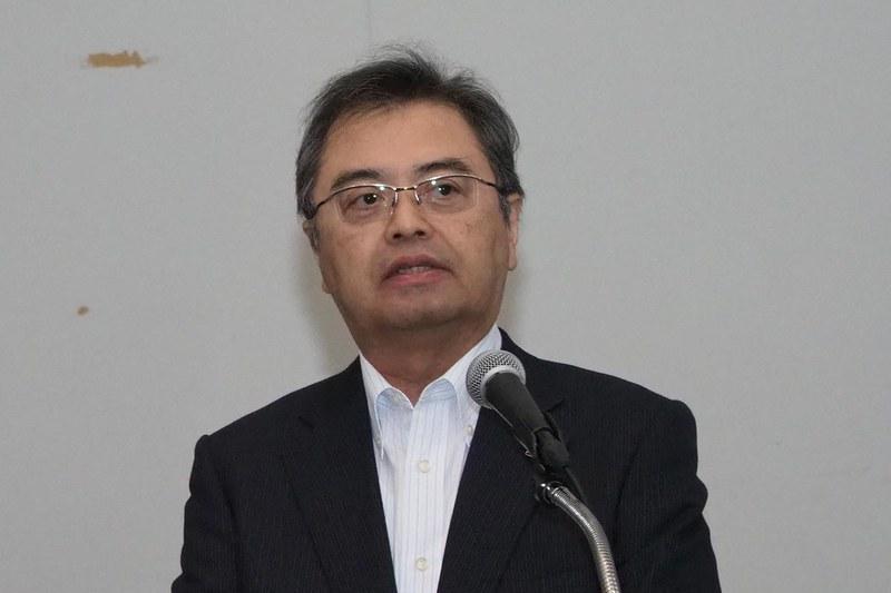 専務執行役員 スマートホームグループ長 兼 IoT HE 事業本部長の長谷川祥典氏