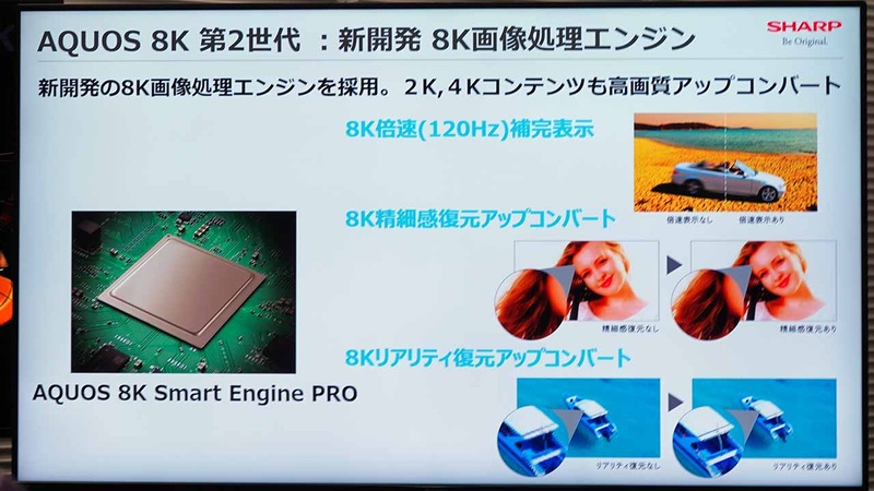 AQUOS 8K Smart Engine PRO