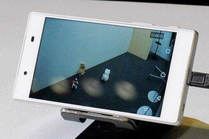 宅内のライブ映像をMANOMAアプリで確認するデモ