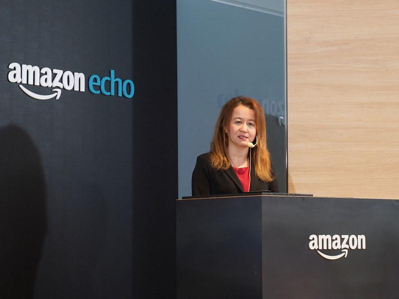 Alexa Experience&Devices ジャパンカントリー・マネージャーのカレン・ルービン氏