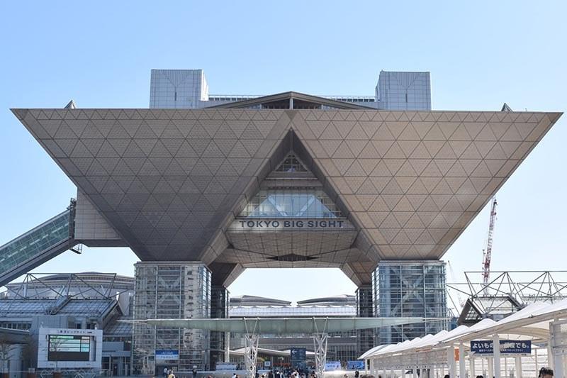 会場は東京ビッグサイトの西ホール