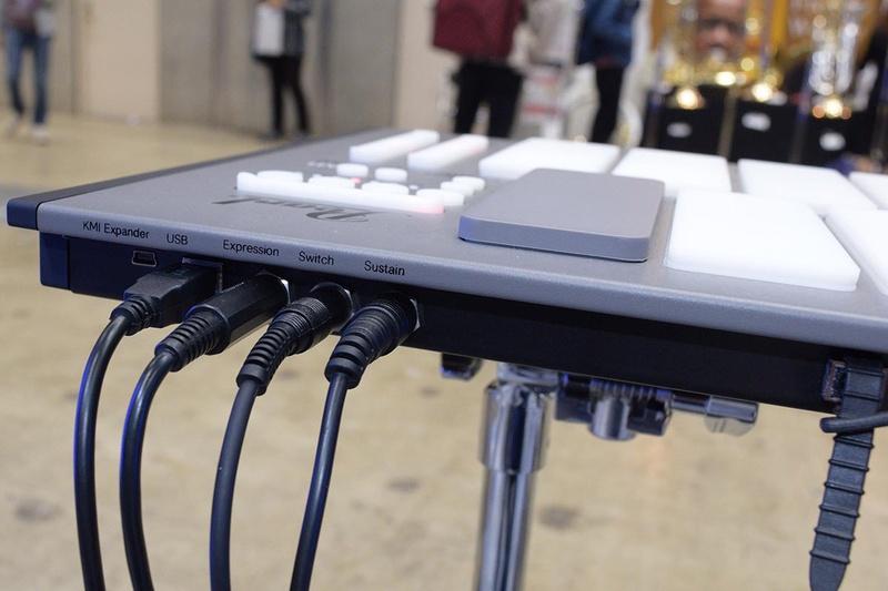 USBバスパワーで動作、外部MIDI音源やソフトウェア音源で鳴らせる