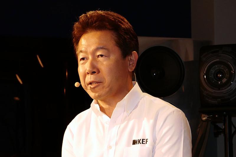 KEF JAPANの浅井信行社長