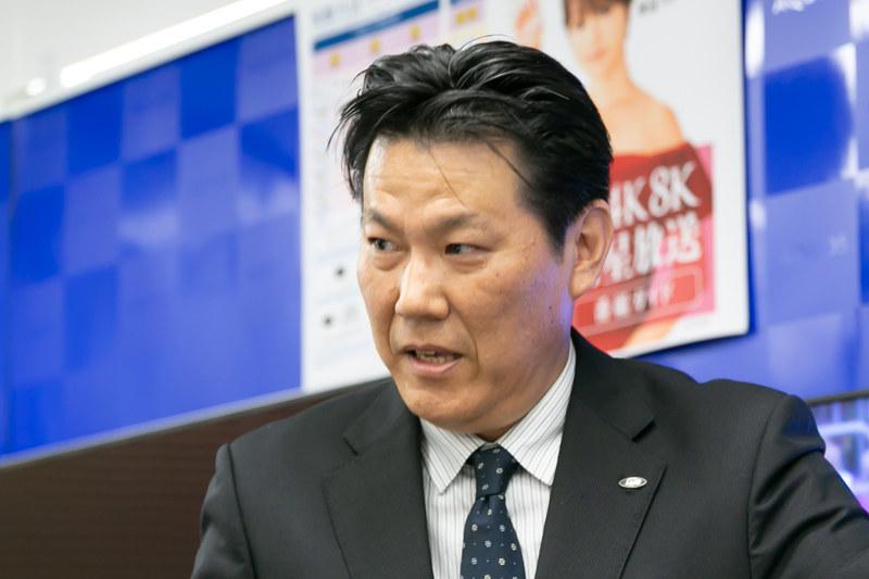 シャープ TVシステム事業本部 国内事業部 BD推進部 参事 岩崎宏之氏