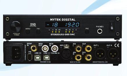 Stereo 192-DSD DAC