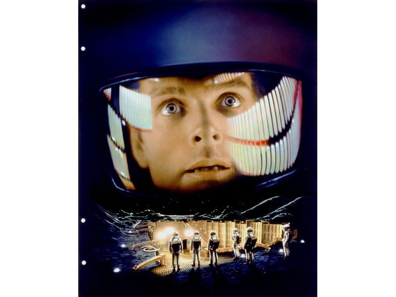 """スタンリー・キューブリック監督によるSF映画の金字塔「2001年宇宙の旅」。フィルムに込められた""""言葉なき表現""""の数々を、8Kのチカラで余すところなく解き放つ<br>(C)Turner Entertainment Company"""
