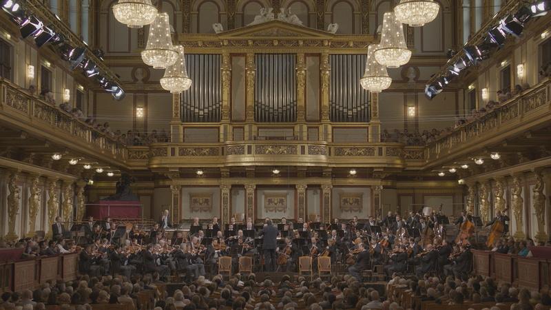 画像のウィーン・フィルハーモニー管弦楽団をはじめ、NHK SHV 8Kではヨーロッパの一流音楽を数多く取り上げる予定だという