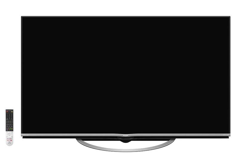 対象製品のシャープ60型4K対応液晶テレビ「AQUOS LC-60US5」