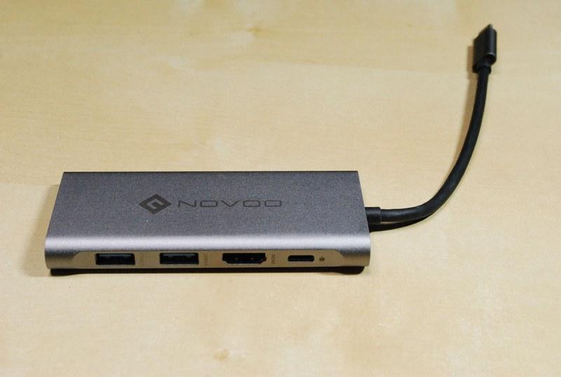 「Novoo USB 3.0 Type-Cドッキングステーション」