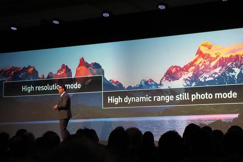 HLGフォトとHigh Resolution modeに対応