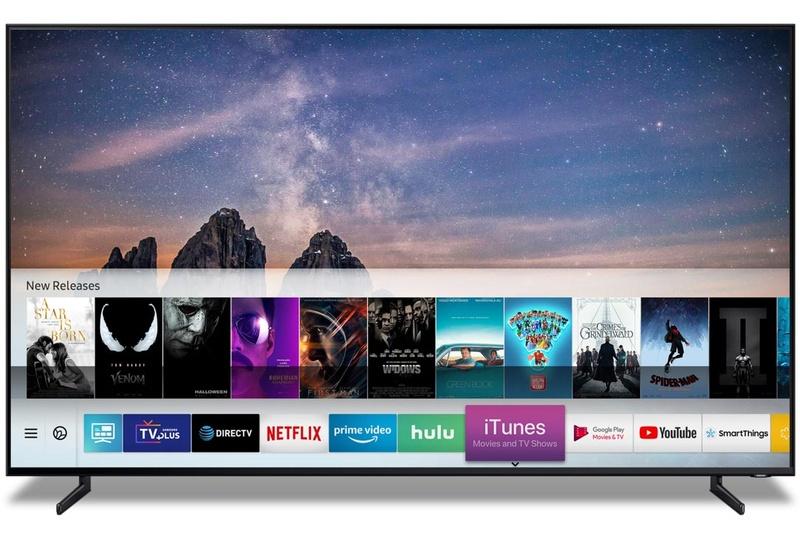 Samsung製テレビでiTunesの映画やテレビ番組を購入/レンタルして視聴可能になる