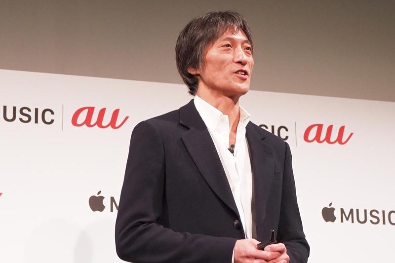 Apple Musicの服部浩代表
