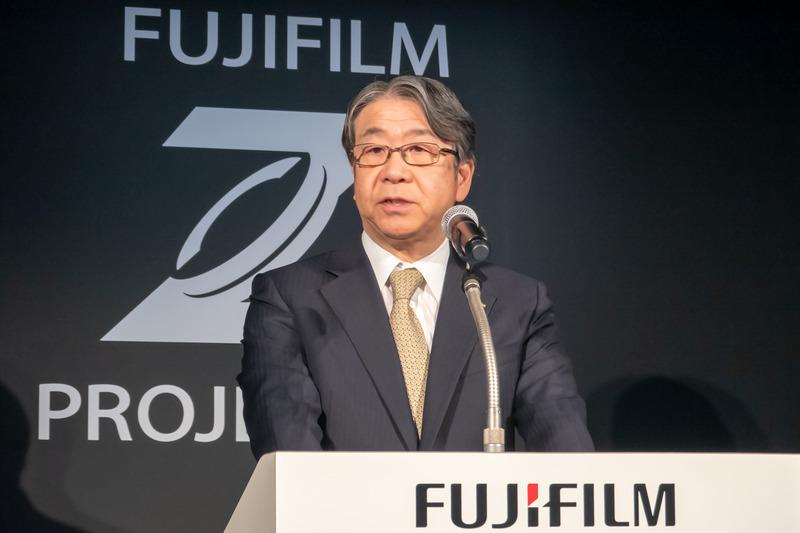 富士フイルムホールディングス 代表取締役社長・COO 助野健児氏
