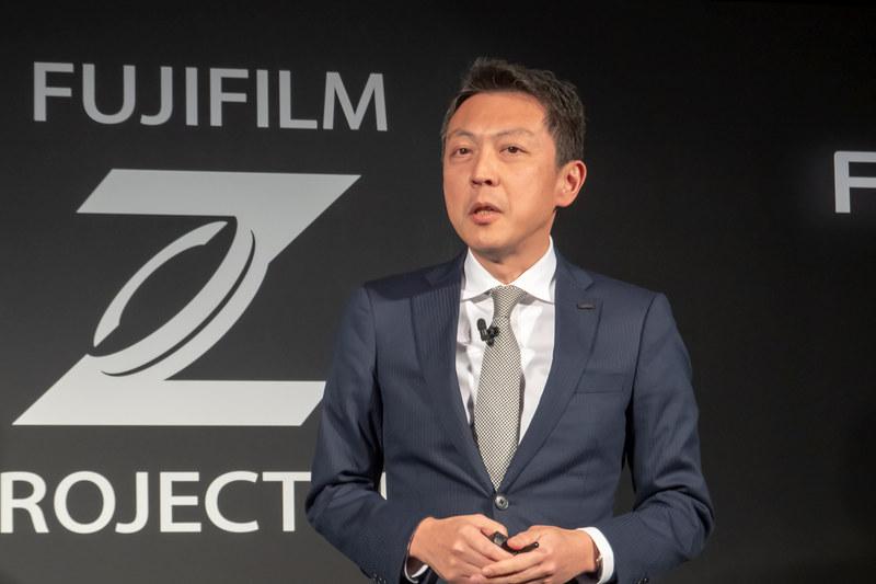 富士フイルムホールディングス 光学・電子映像事業部 事業部長 飯田年久氏