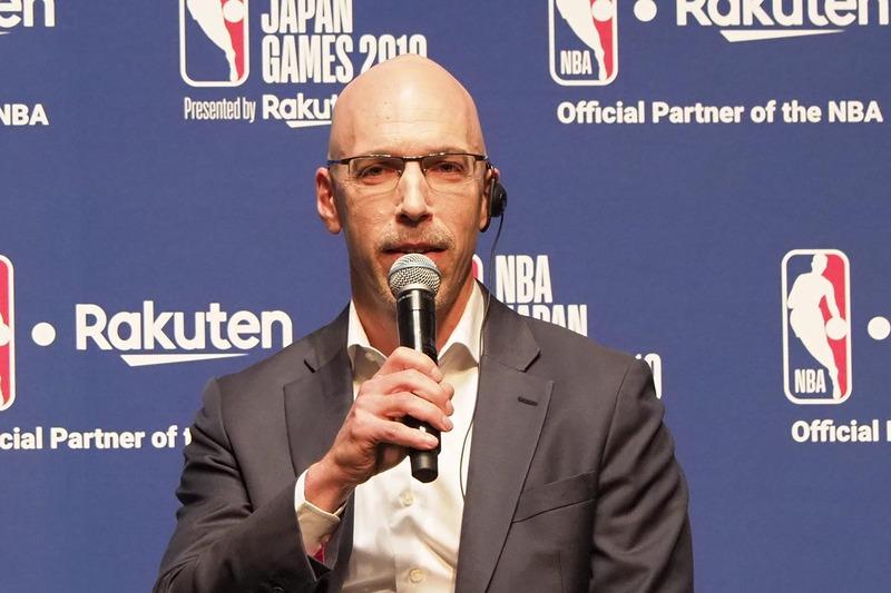 NBAアジア マネージング・ディレクター スコット・レビー氏
