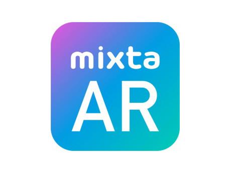 スマホARアプリ「mixta AR」