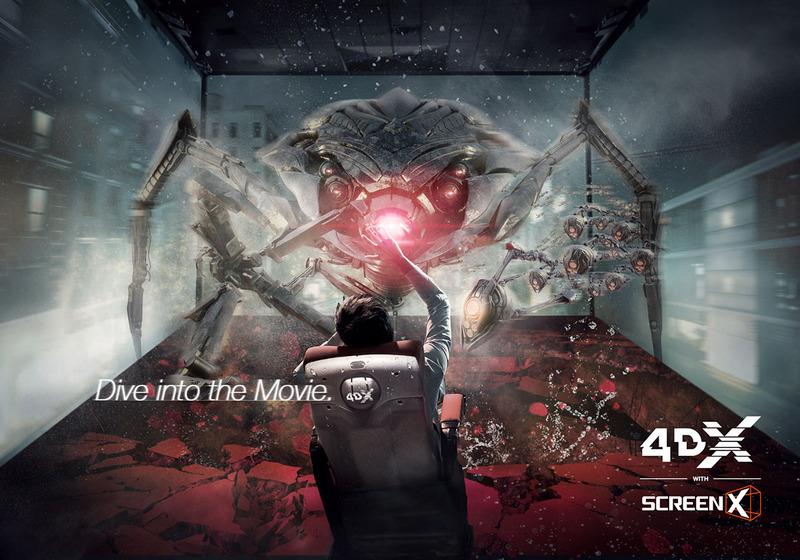 池袋「グランドシネマサンシャイン」に体感型シアター「4DX with ScreenX」日本初上陸