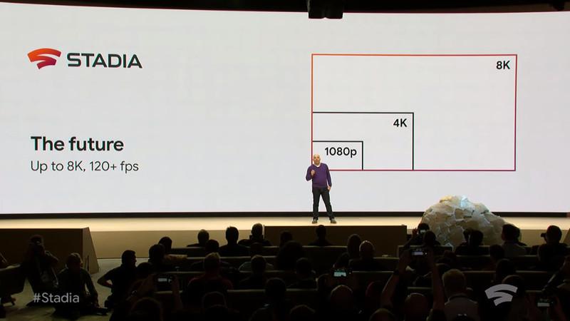 将来的にはクラウドゲームで8Kや120fpsにも対応できるという